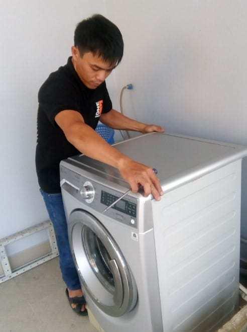 Sửa máy giặt cửa trước