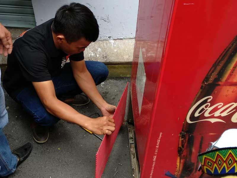 Sửa-tủ-mát Coca Cola