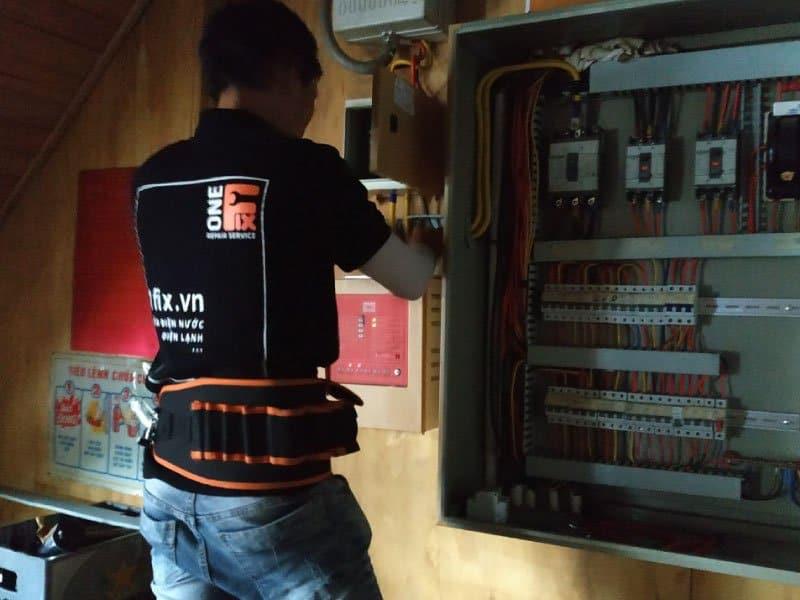 Sửa chập điện do quá tải