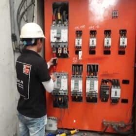 Thi công tủ điện 3 pha