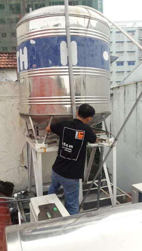 Dịch vụ lắp ống thông hơi cho bồn nước của các loại máy nước nóng