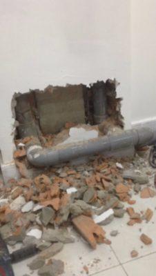xử lý đường ống nước