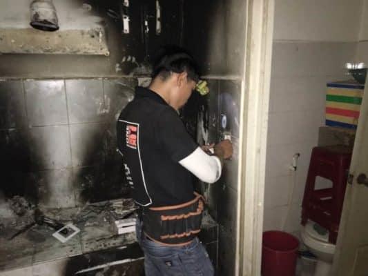 Sửa chập điện, cháy điện