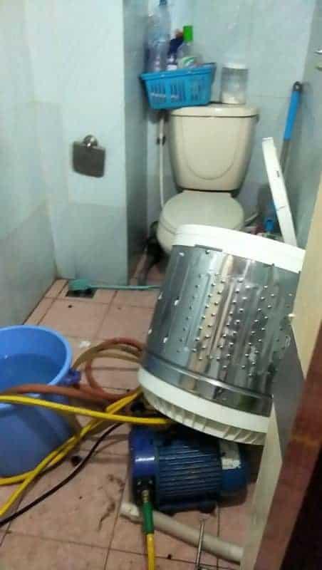cách vệ sinh lồng giặt