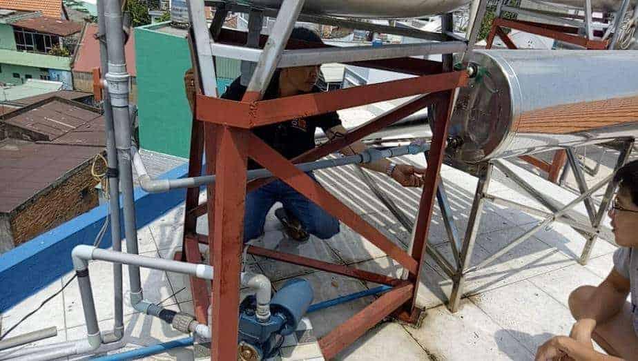 Sửa Máy Nước Nóng Năng Lượng Mặt Trời Quận 11