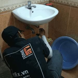 thay bồn rửa mặt