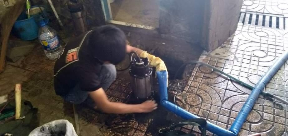 Cách lắp đặt máy bơm chìm nước thải, máy bơm chống ngập gia đình
