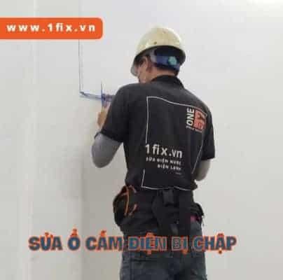 Sửa chữa ổ cắm điện bị nổ, ổ cắm điện bị nóng chảy