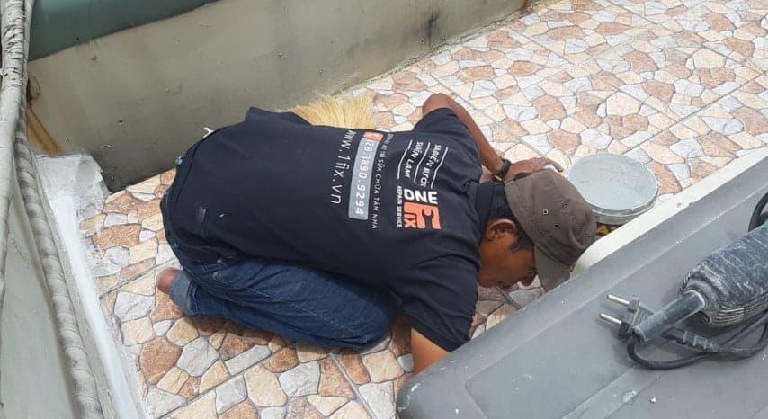 chống thấm trần nhà từ sân thượng