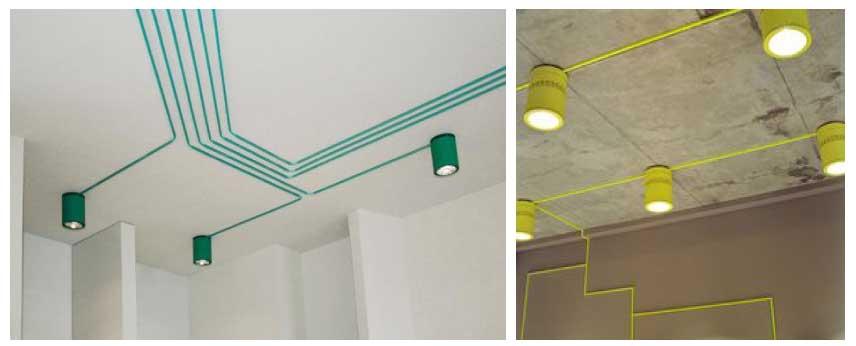 Lắp đèn Led lên trần bê tông