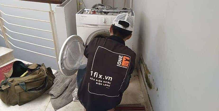 Sửa máy giặt Electrolux cửa trước