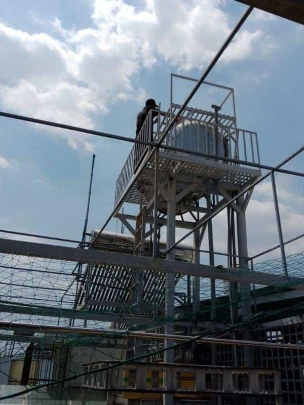Các bước lắp máy nước nóng năng lượng mặt trời trên mái tôn gia đình