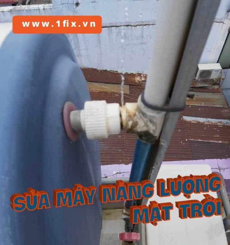 Hàn ống nước nóng PPR, sửa thái dương năng