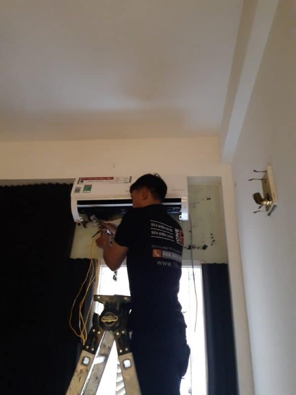 Lắp đặt dàn lạnh máy lạnh treo tường