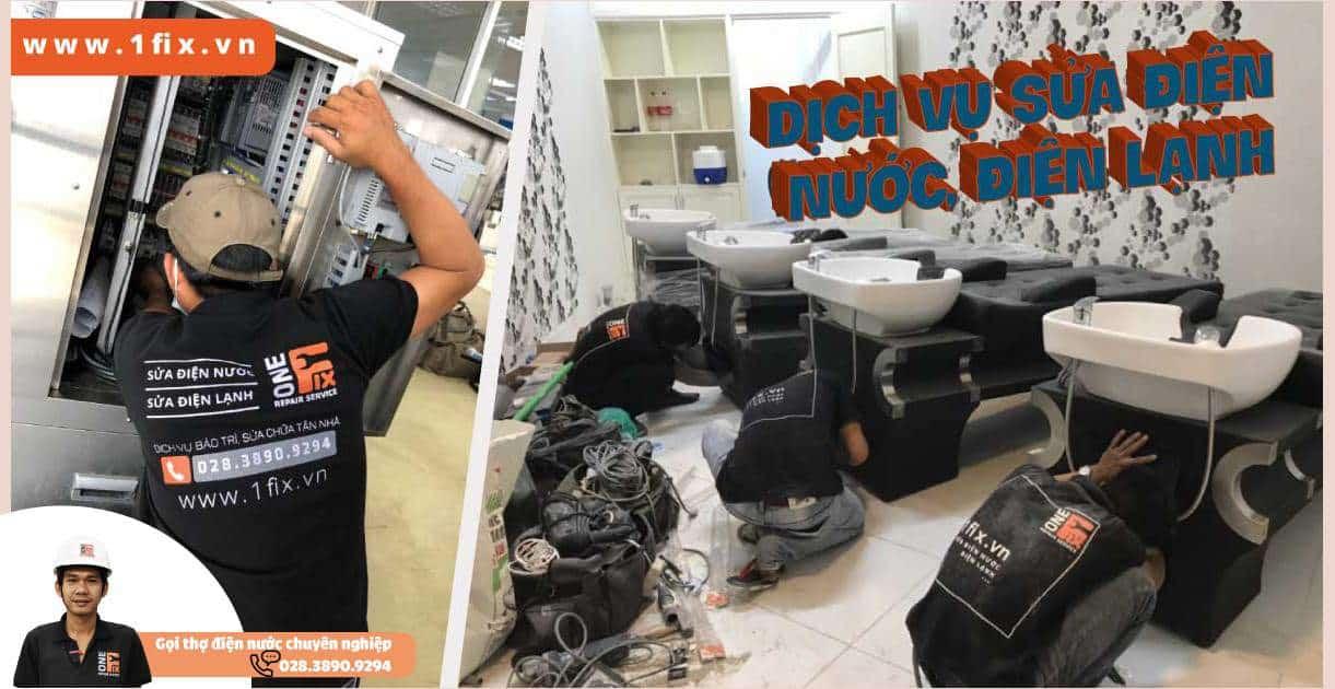 Thợ sửa điện nước giá rẻ
