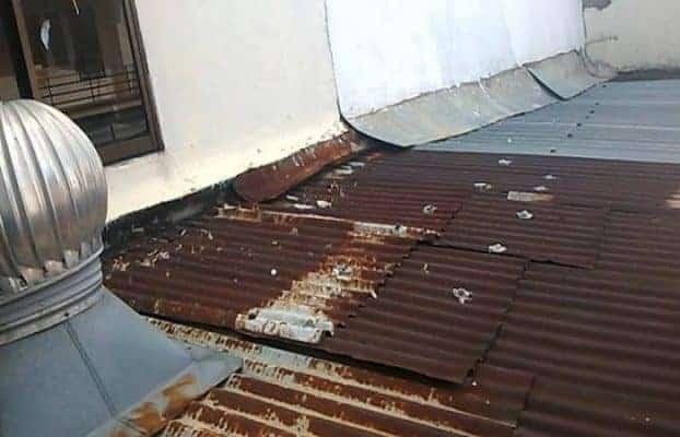 cách chống thấm dột mái tôn