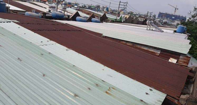 cách xử lý chống thấm dột mái tôn