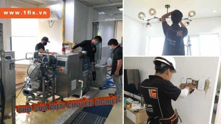 Thợ sửa điện dân dụng chuyên nghiệp