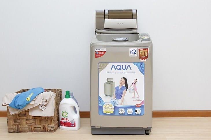 Hướng dẫn cách vệ sinh máy giặt Aqua và vệ sinh lồng giặt Aqua