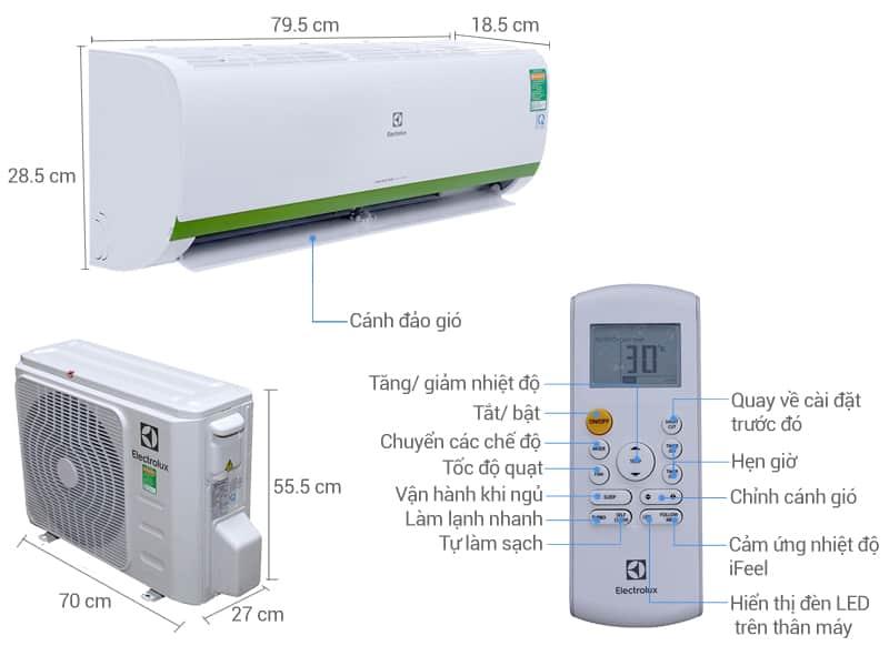 Hướng dẫn sử dụng điều hòa Electrolux và vệ sinh máy lạnh Electrolux