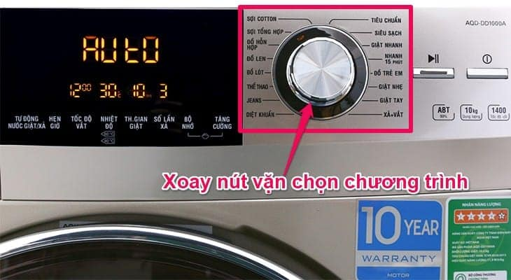 Hướng dẫn sử dụng máy giặt Aqua cửa trên và máy giặt Aqua cửa ngang