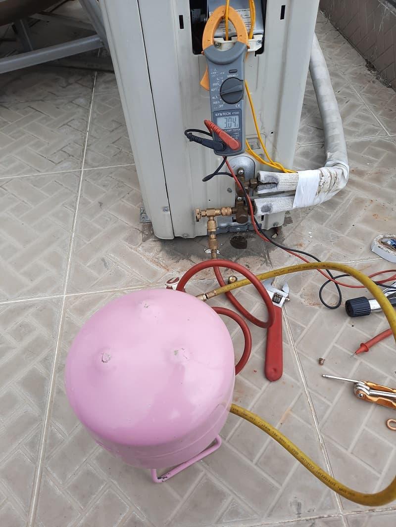 Tháo lắp máy lạnh quận 4 - Thợ lắp đặt máy lạnh quận 4