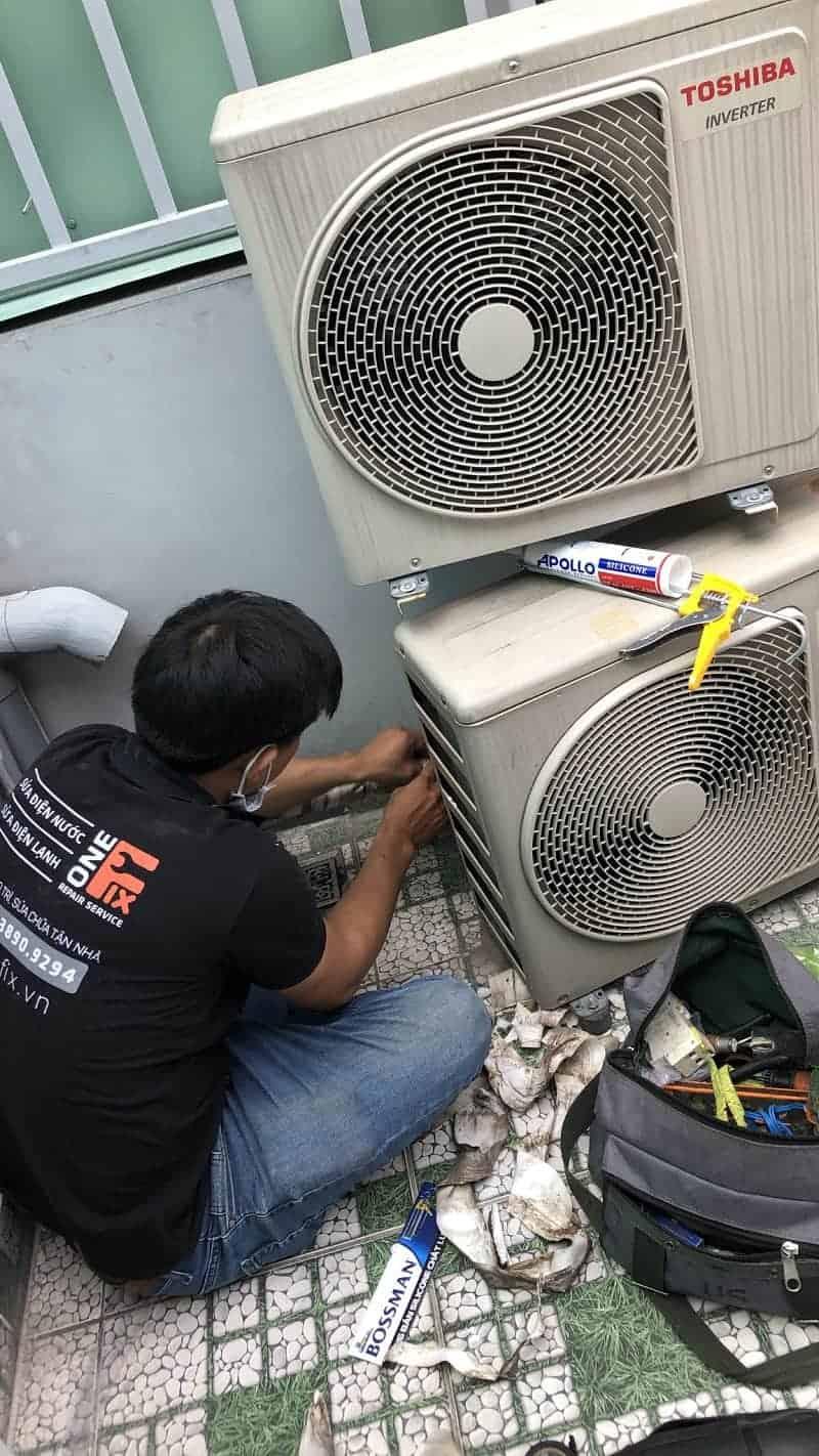 Tháo lắp máy lạnh quận 6 - Thợ lắp đặt máy lạnh quận 6