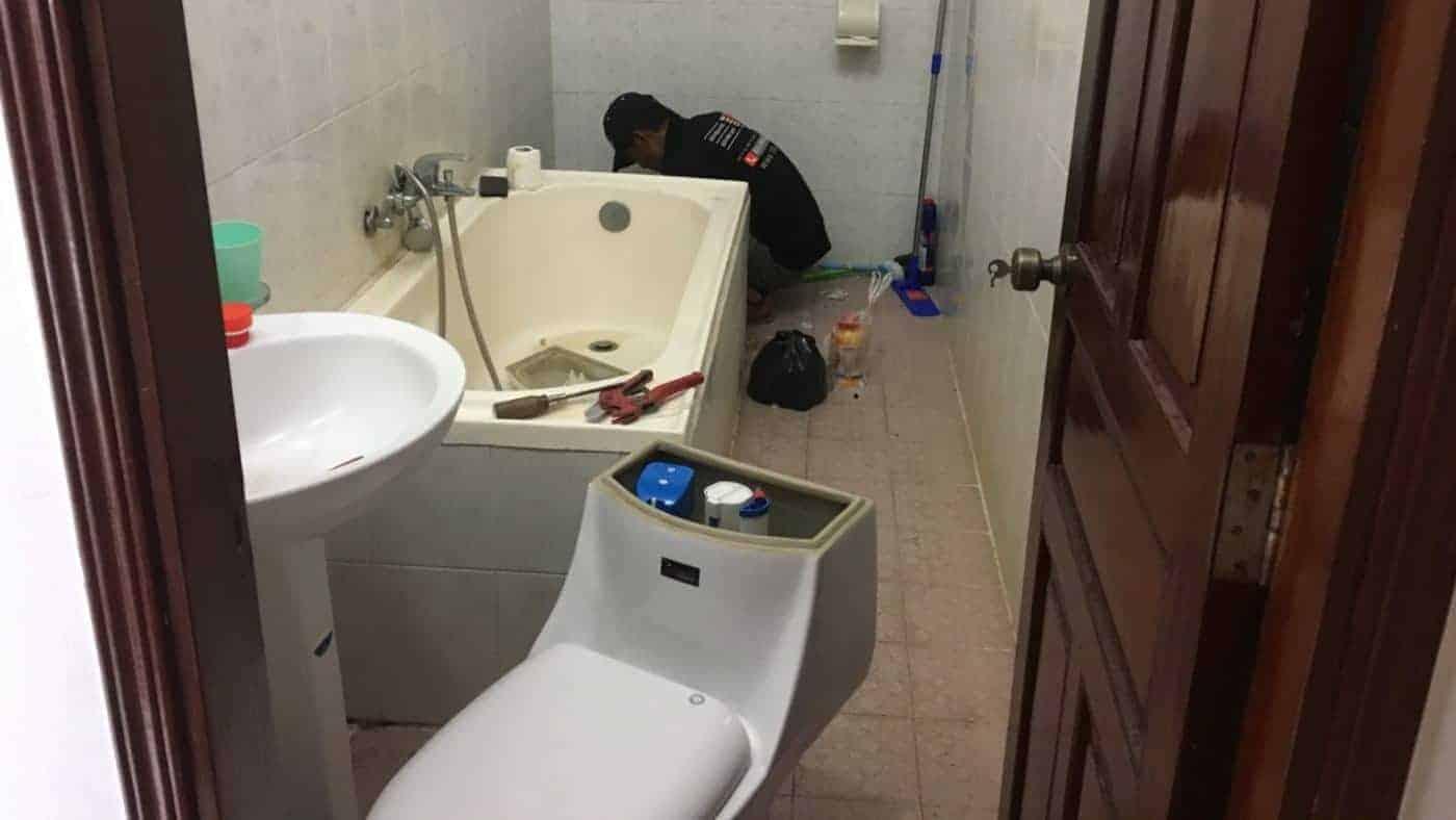 dịch vụ sửa nhà vệ sinh bị hư hỏng