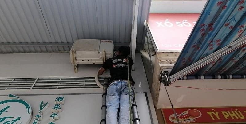 Tháo lắp máy lạnh quận 7 - Thợ lắp đặt máy lạnh quận 7