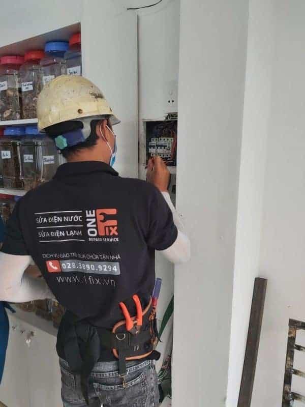 Thợ sửa điện quận 5 TPHCM