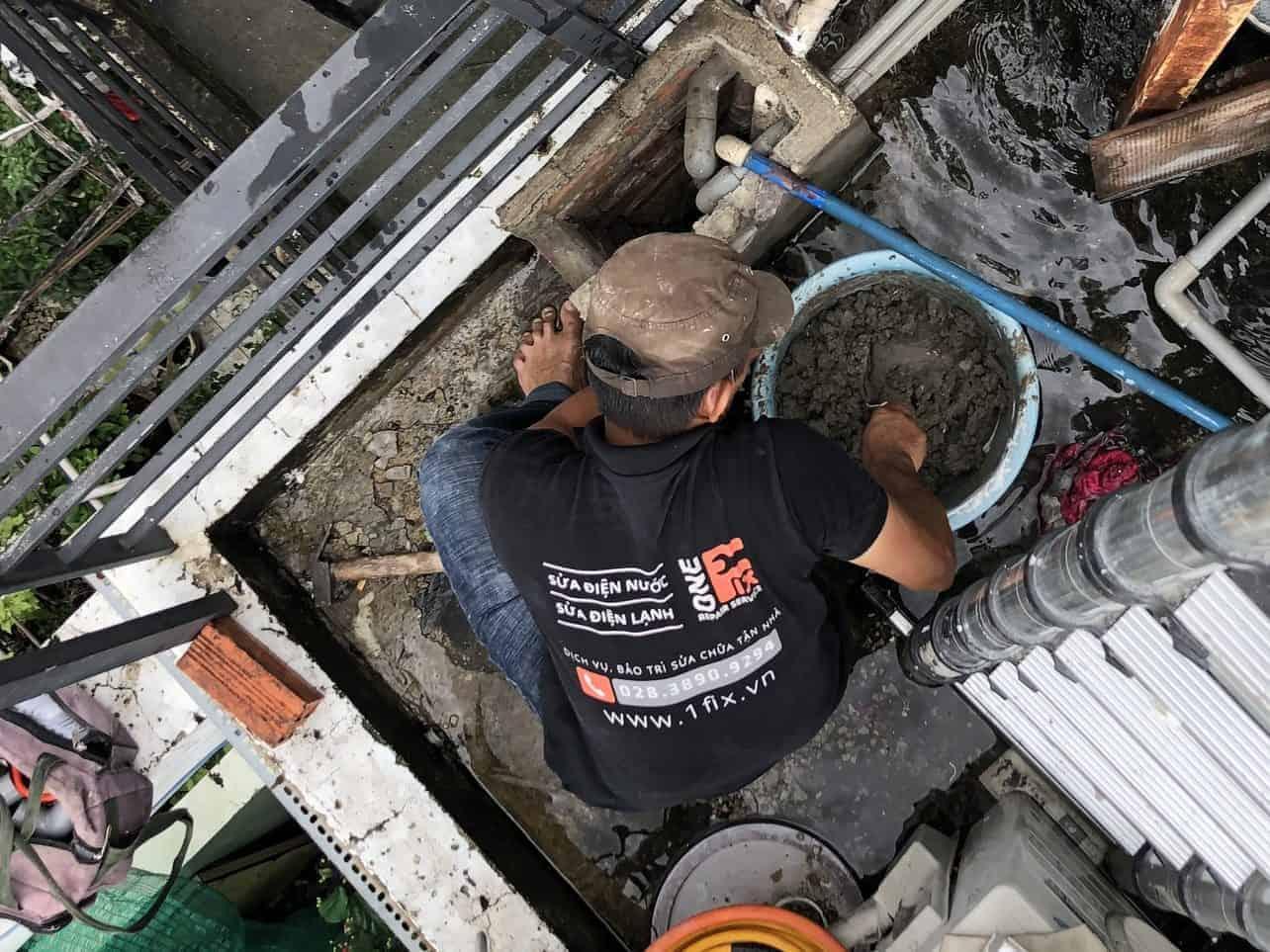 Thi công sửa chữa nhà tại quận 12