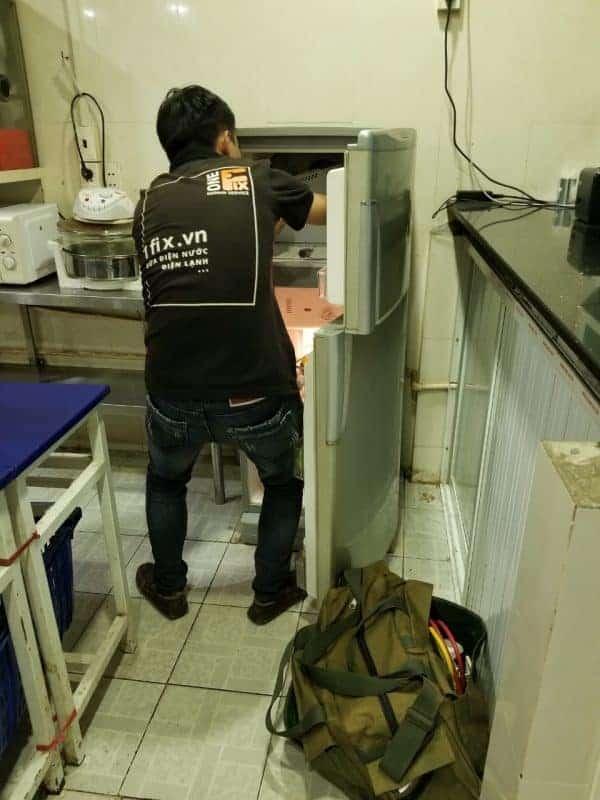 Dịch vụ sửa tủ lạnh không lạnh - Sửa tủ lạnh không đông đá