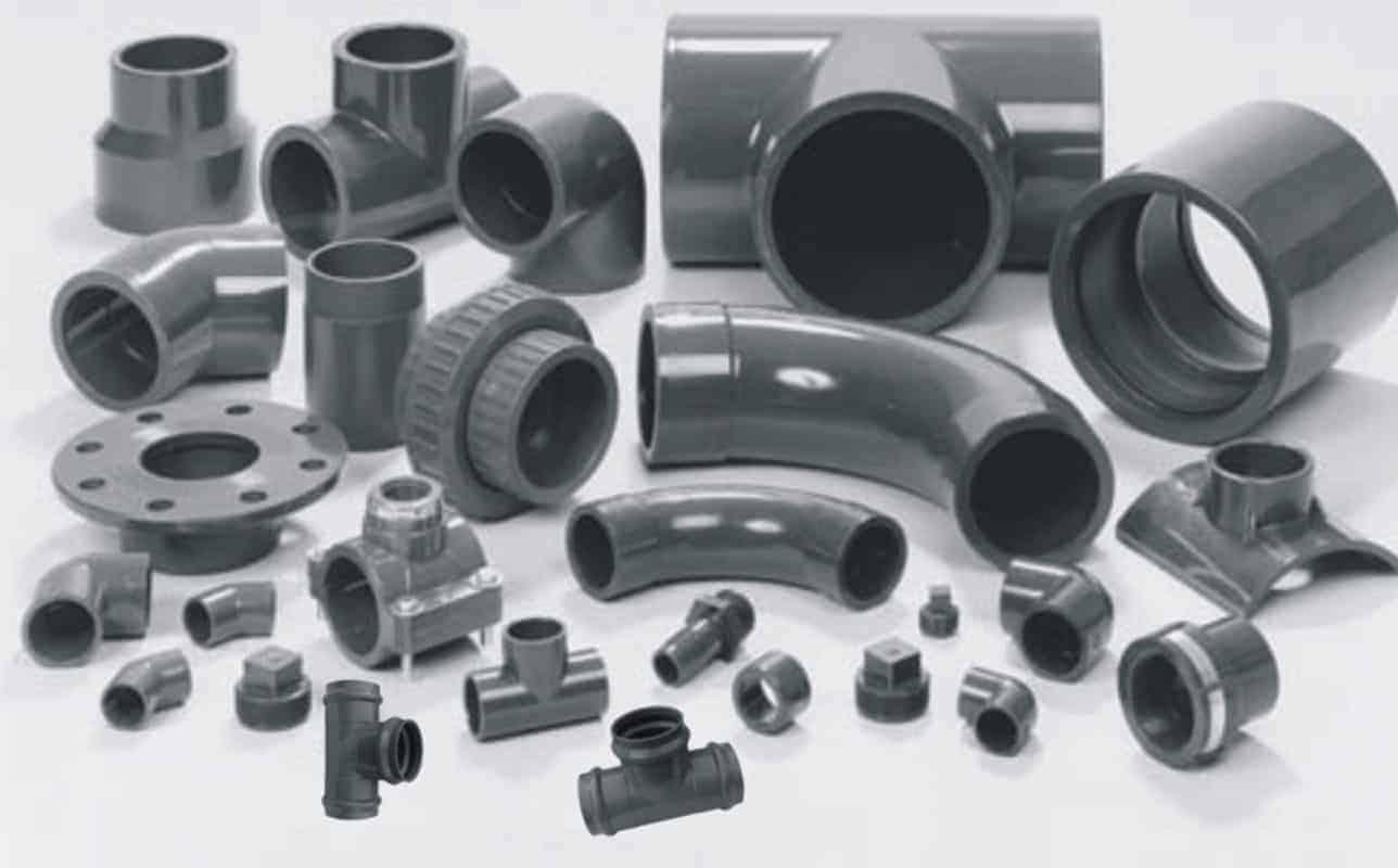 Các loại keo và chất kết dính ống nước với phụ kiện ống nước PVC