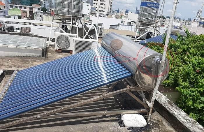 Sửa máy nước nóng năng lượng mặt trời quận 3