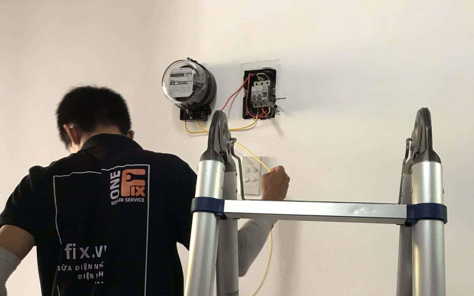 Cách đấu công tơ điện 1 pha gián tiếp