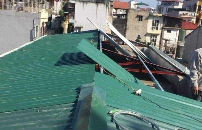 Dịch vụ thay mái tôn - Chi phí lợp mái tôn, mái nhà giá rẻ