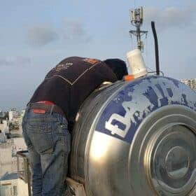 lắp phao điện bồn nước