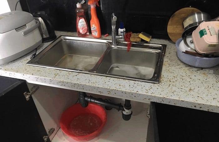Cách Thông Ống Nước Bồn Rửa Bát