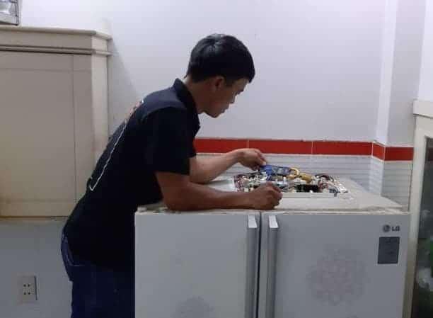 giá sửa bo tủ lạnh
