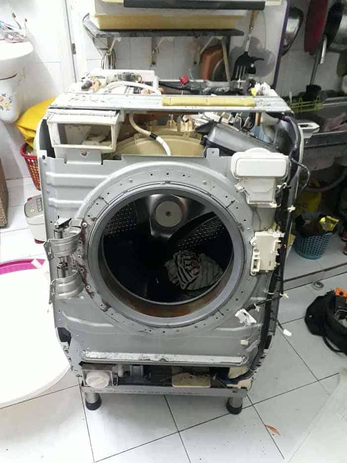 Sửa Board máy giặt Aqua