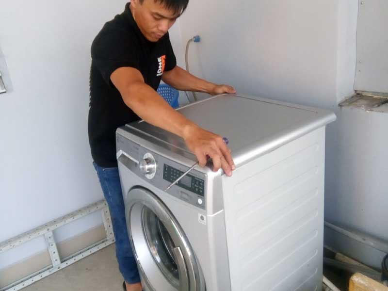 Sửa Board máy giặt Mitsubishi