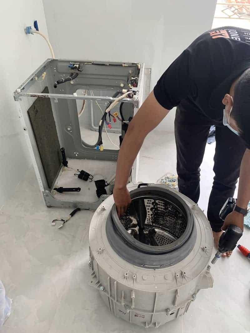Sửa Board máy giặt Panasonic
