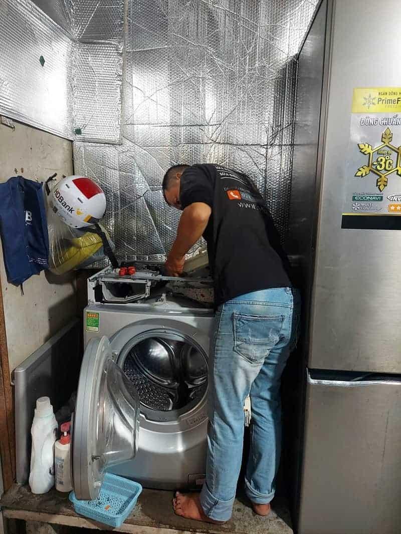 Sửa Board máy giặt Sharp