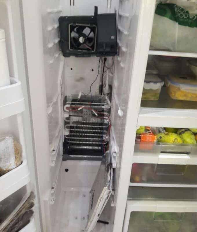 Sửa tủ lạnh side by side kêu ồn