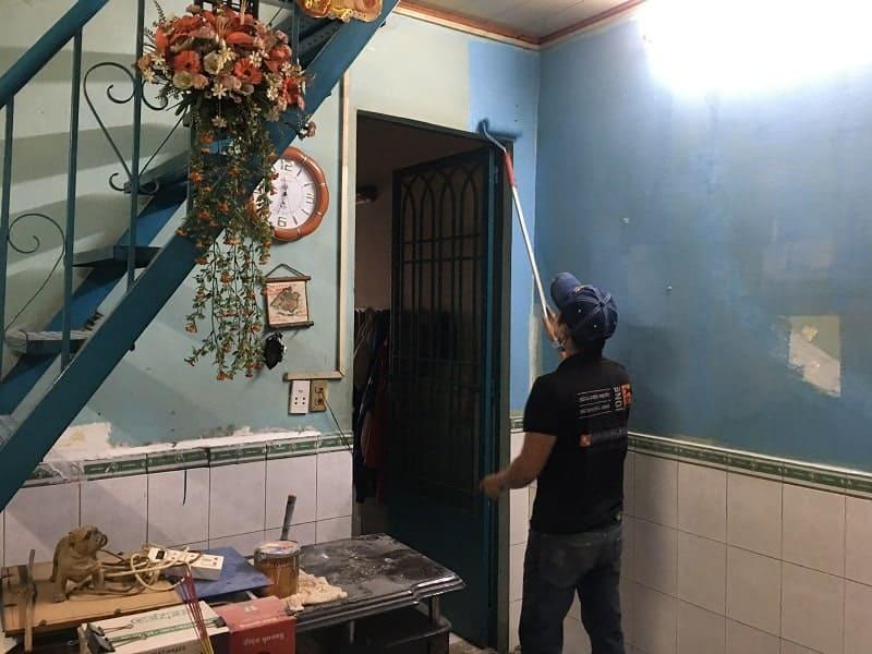 Thợ Sơn Nhà Quận Gò Vấp