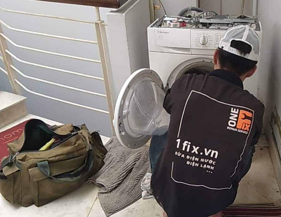 sửa máy giặt không quay
