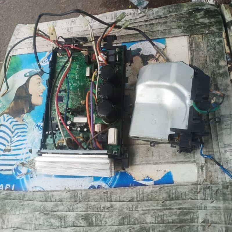 máy giặt không xả nước