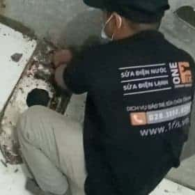 xử lý đường ống nước đóng cặn
