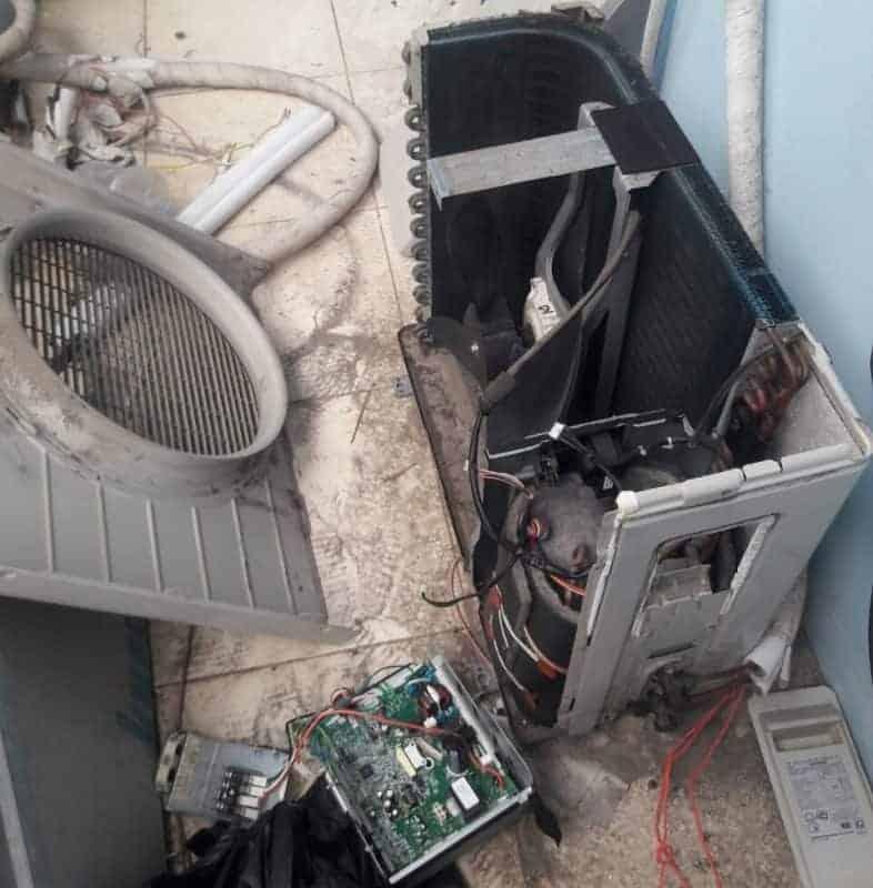 thay block máy lạnh inverter