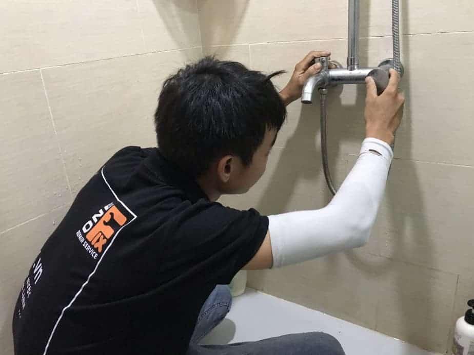 cách sửa vòi hoa sen bị rỉ nước